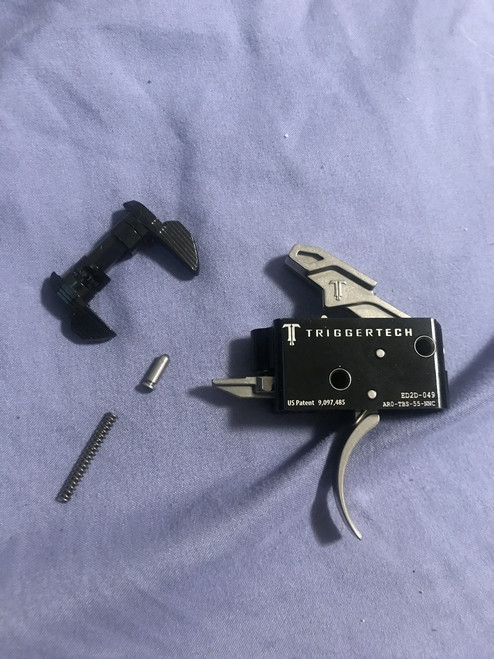 Triggertech AR15 Drop in Trigger Kit (3.5 Lbs Fixed Competitive)