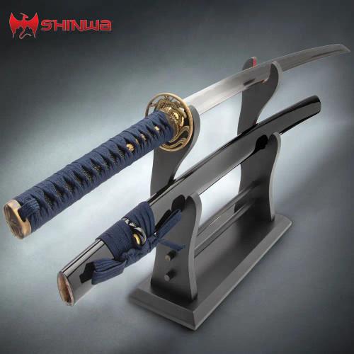 Shinwa Dragonfly Blue Katana Sword