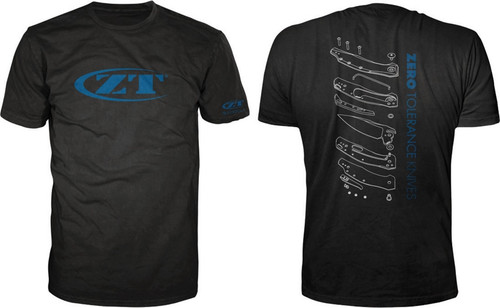 Exploded View T-Shirt L