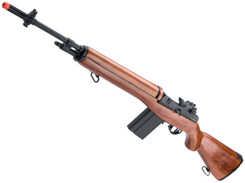 A&K M1A Full Size Airsoft AEG Rifle w/ Real Wood Stock