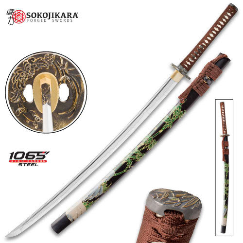 Sokojikara Shadow Grove Handmade Katana / Samurai Sword