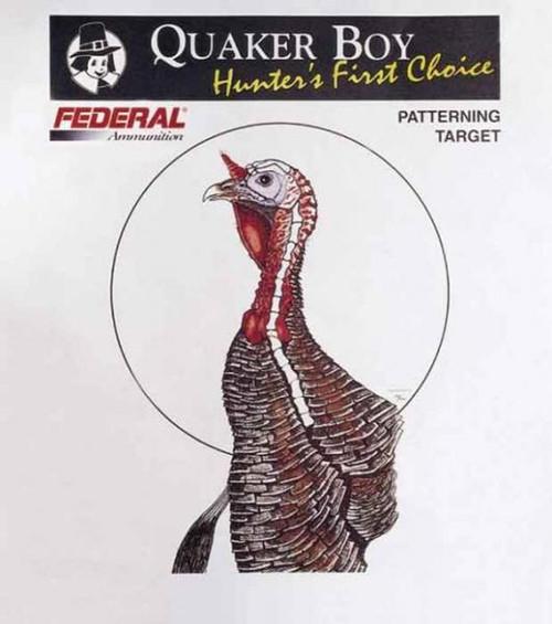 Turkey Targets 100 Bulk Pack