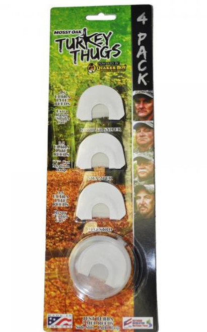 Turkey Thugs 4 Pack Mouth Calls