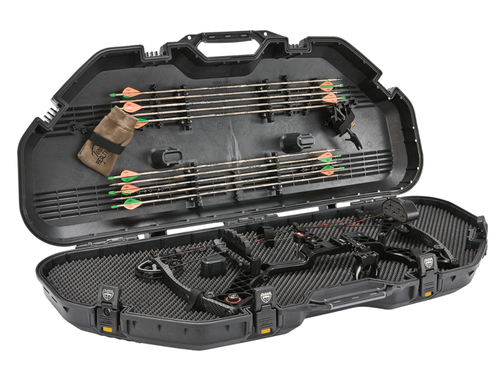 All Weather Bow Case Black W/Yellow Latches