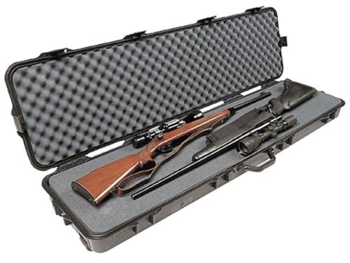 Gun Guard Aw Double Scoped Rifle Case W/Wheels