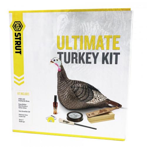 Ultimate Turkey Kit 3 Calls & 1 Hen Decoy