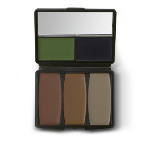 5 Colour Military Woodland CamoCompac Make-Up Kit
