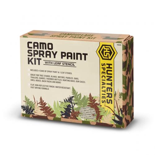 Camo Spray Paint Kit 4/Colour 16 Oz. Cans