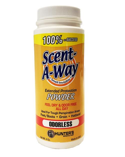 Scent-A-Way Powder 4Oz. Shaker Bottle