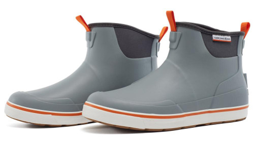 """Grundens """"Deck-Boss"""" Ankle Fishing Boot (Color: Monument Grey)"""