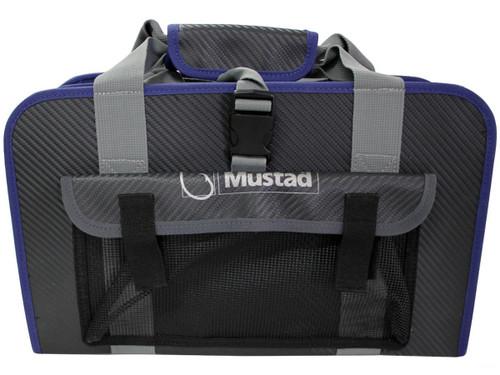 Mustad Jig Bag / Binder (Color: Dark Grey & Blue / Large)