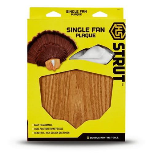 Single Fan Turkey Plaque