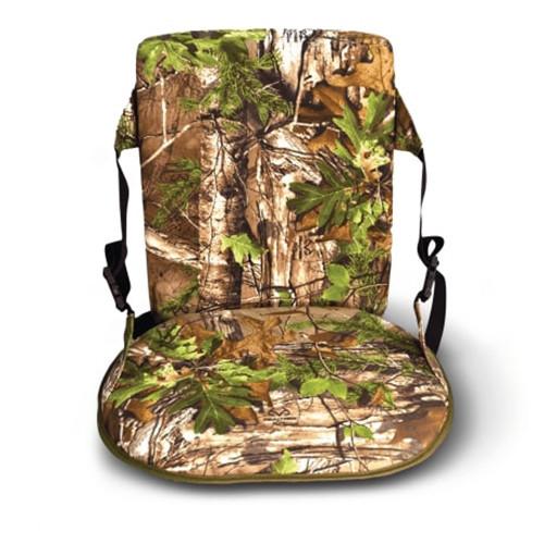 Foam Seat W/Back Realtree Xtra Grn