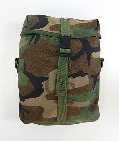 U.S. Armed Forces MOLLE II Sustainment Pouch -  Woodland Camouflage