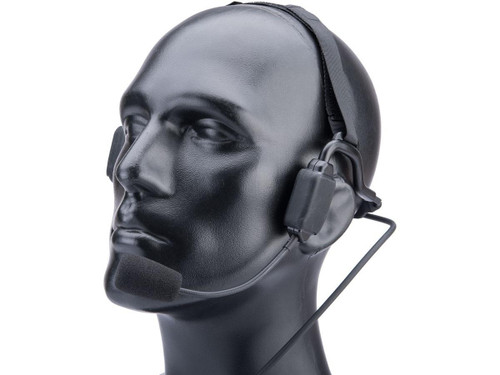 Code Red Headsets Tactical Bone Conduction Headset (Model: Kenwood 2-Pin Connector)