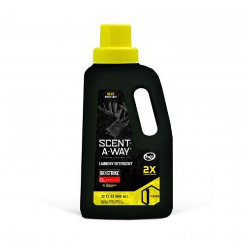 Scent-A-Way Bio-strike Laundry Detergent 32 Oz.