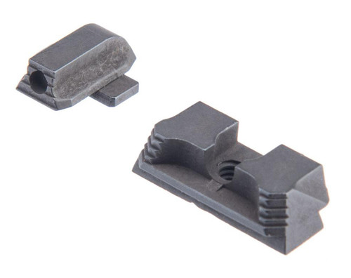 Strike Industries Strike Iron Front & Rear Sights for SIG Sauer P320 (Model: Standard Height)