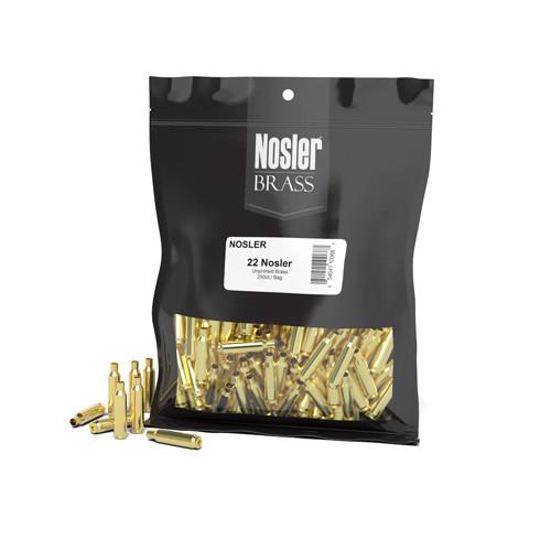 22 Nosler Brass 250 Per Bag