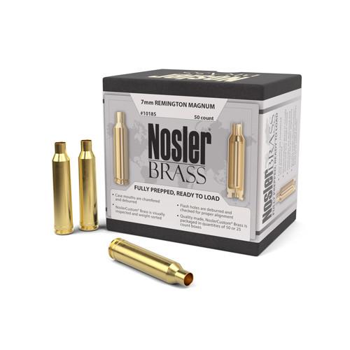 Nosler 7Mm Rem Mag Brass 50 Per Box