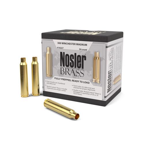 Nosler 300 Win Mag Brass 50 Per Box