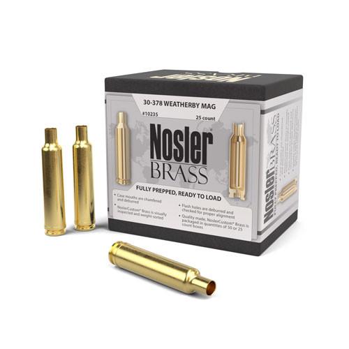 Nosler 30-378 Wby Mag Brass 25 Per Box