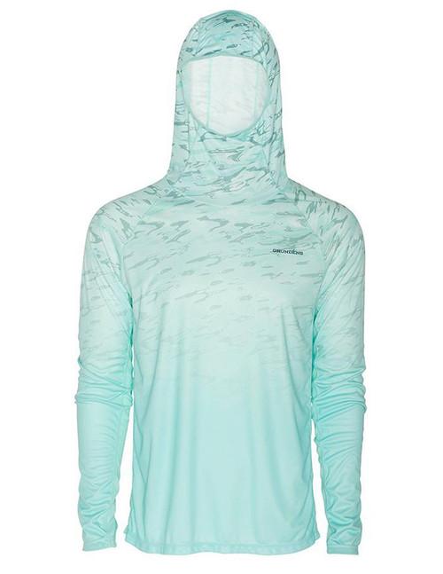 Grunden Solstrale Hoodie (Color: Blue Light Liquid Fade)