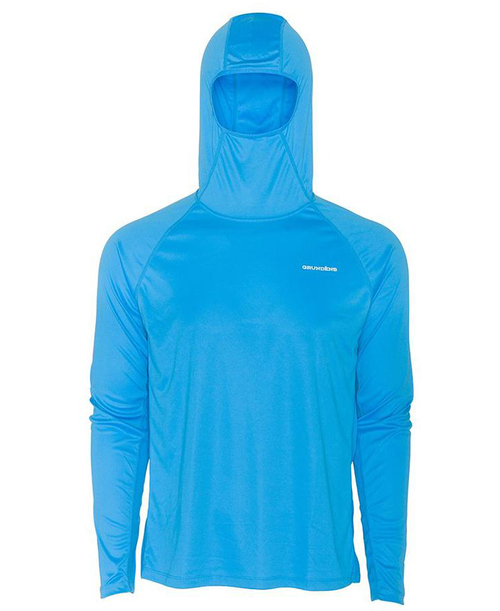 Grunden Solstrale Hoodie (Color: Coastal Blue)
