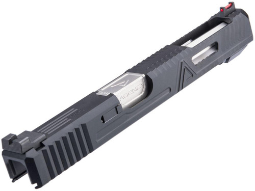 RWA Agency Arms Bonesaw Extended Size Slide Set for ISSC M22, SAI BLU, Lonewolf, & Compatible Airsoft Gas Blowback Pistol