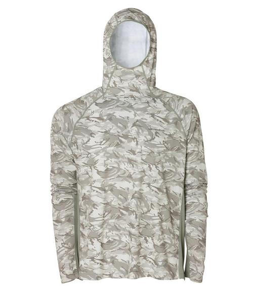 Grunden Solstrale Hoodie (Color: Refraction Glacier Camo)