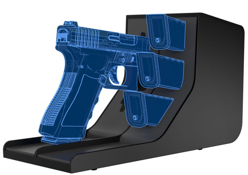 Vaultek MPR-4 Universal Single Pistol and Magazine Rack
