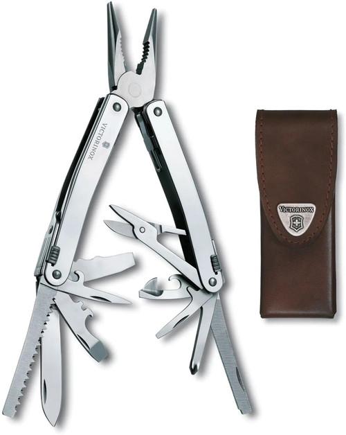 Swiss Tool Spirit X Leather