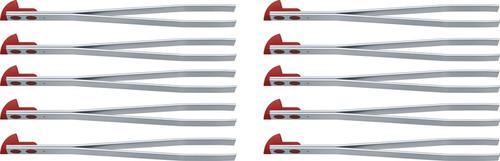 Replacement Tweezers Lg Red