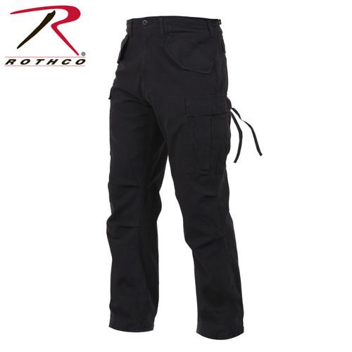 Rothco Vintage M-65 Field Pants - Black