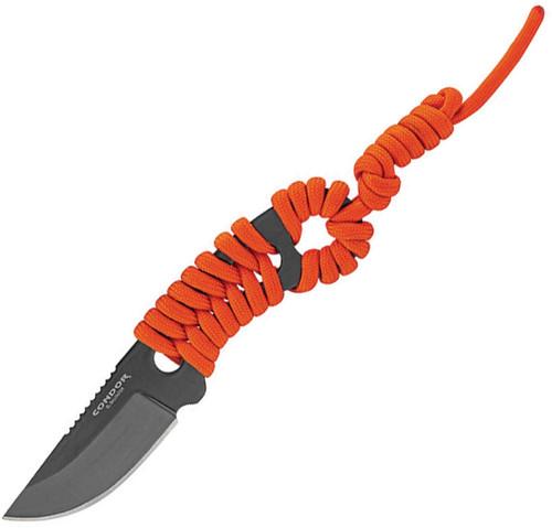 Carlitos Neck Knife Orange