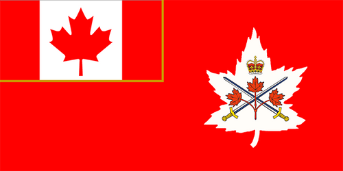 Canadian Army Flag - New Style