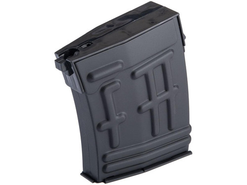 AGM 30rd Mid-Cap Magazine for SVD Airsoft Sniper Rifles