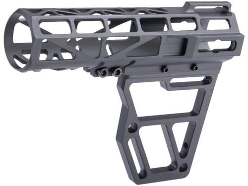 JE Machine Anodized Aluminum Skeletonized Pistol Brace Stabilizer