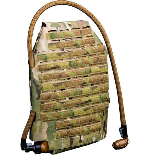 Qore Performance IcePlate MOLLE Sleeve Combo for IcePlate Curve Hydration Pack (Color: Multicam)