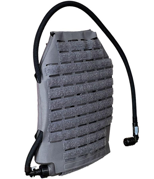 Qore Performance IcePlate MOLLE Sleeve Combo for IcePlate Curve Hydration Pack (Color: Wolf Grey)