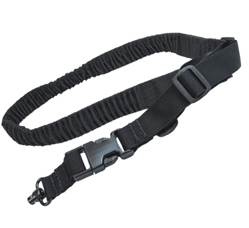 UDC Padded Bungee One Point Sling W/Push Button Black