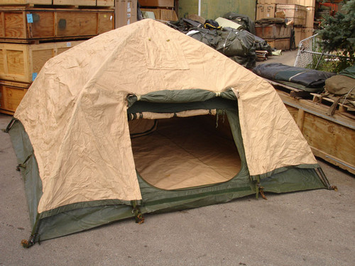 U.S. Armed Forces Soldier Crew Tent -As Is