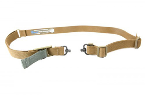 Vickers 2 To 1 Push Button Sling Coyote Brown