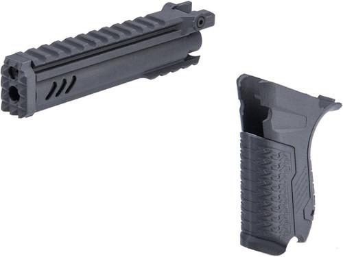 SRU Luger Classic Modernization Kit for WE-Tech P-08 Gas Blowback Airsoft Pistol