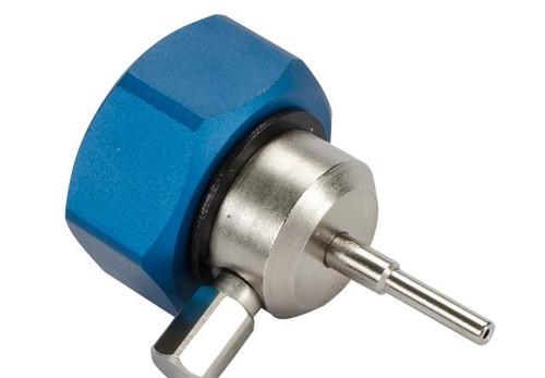 CNC Aluminum Propane Adapter w/ Integrated Silicone Port