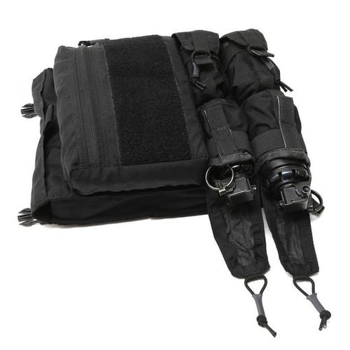 LBX Tactical Banger Back Panel (Color: Black)