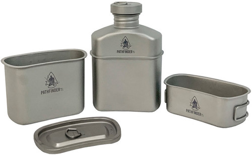 Titanium Canteen Cooking Kit