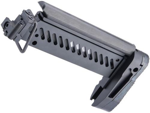 Avengers PT-1 Side Folding Stock for E&L AK Series Airsoft Rifles (Color: Black)