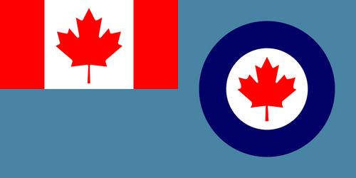 Royal Canadian Airforce Flag