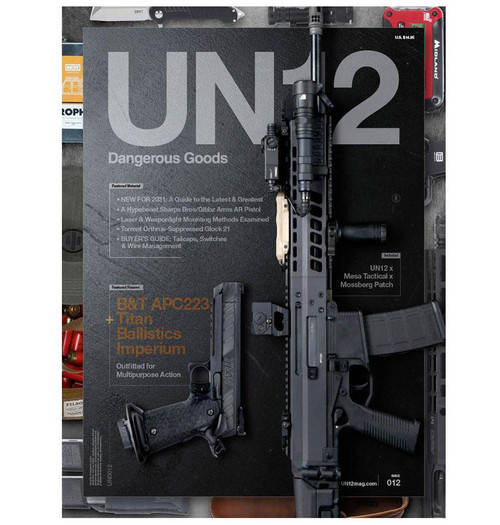 UN12 Magazine with Limited Edition UN12 x Mesa Tactical x Mossberg Patch (Issue: 012)