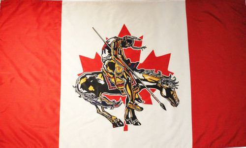 Canada - End of Trail Flag